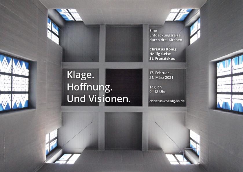 Christus König, Osnabrück: Plakat zur Fastenzeit